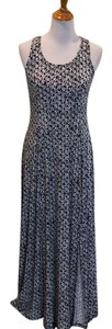 Navy/White Maxi Dress by MICHAEL Michael Kors Sleeveless