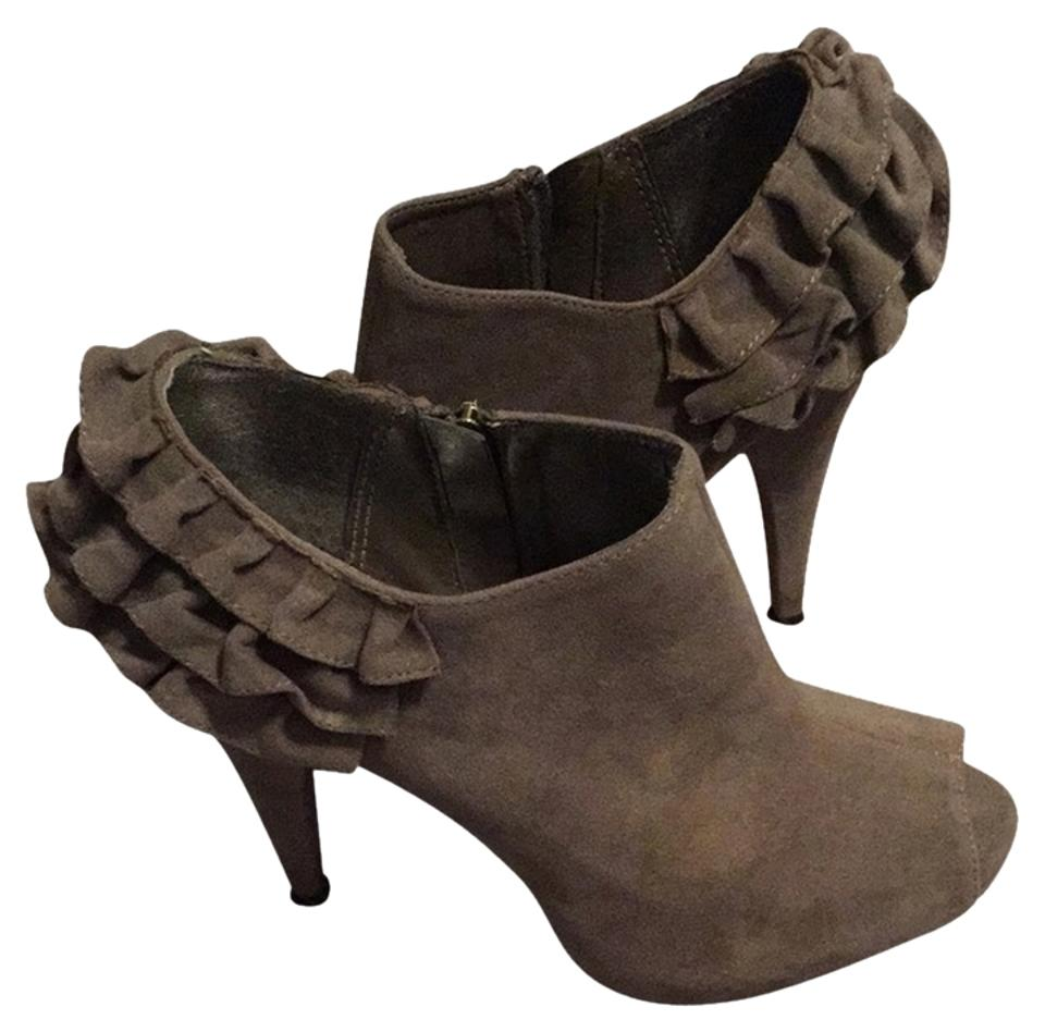 lady Bamboo Grey Na Moderate Boots/Booties Moderate Na costs 3aac14