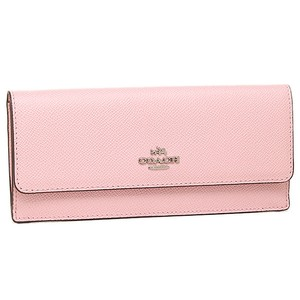 Coach EMBOSSED TEXTURED SOFT LEATHER WALLET