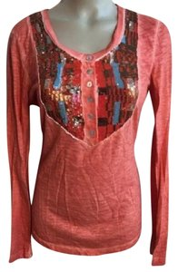 Free People Top Orange