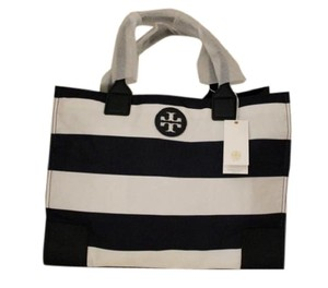 Tory Burch Tote in Navy/White