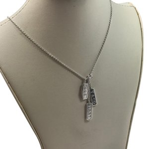 Tiffany & Co. 1837 triple bar necklace