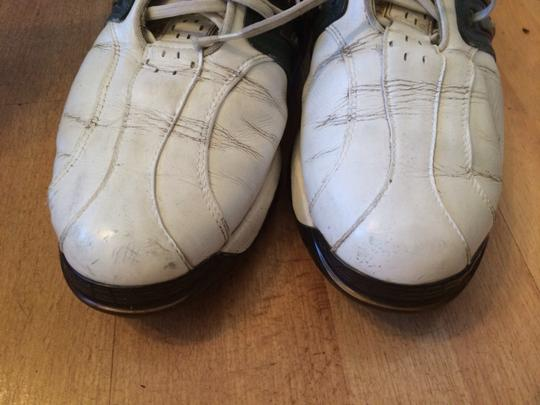 adidas Leather Golf Mens Golf Soft Spike White Athletic Image 3