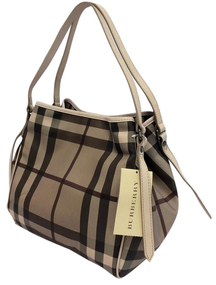 d0724ee60255 Burberry Smoked Check Small Canterbury Trench Pvc Tote - Tradesy