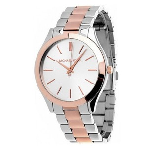 Michael Kors Michael Kors Ladies Watch MK3204 Two Tone Silver Rose Gold New