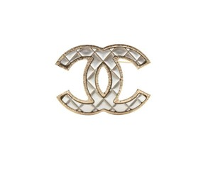 Chanel Silver and Gold - Silver/Gold Brooch/Pin