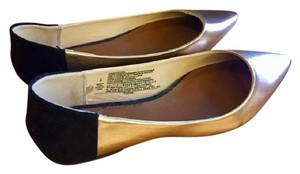 Old Navy Bronze and Black Flats