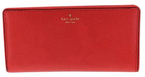 Kate Spade Kate Spade New York Mulberry Street Large Stacy Pebbled Leather Wallet