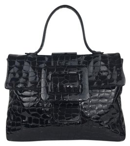 Jane August Satchel in Black