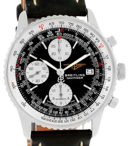 Breitling Breitling Navitimer II Automatic Steel Black Dial Mens Watch A13322
