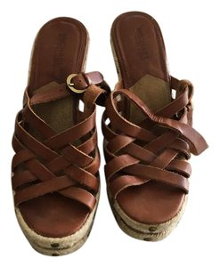 Michael Kors Strappy Brown Sandals