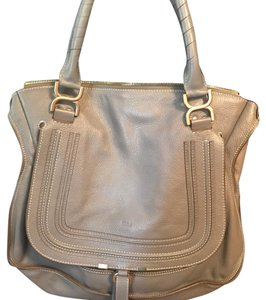 Chlo Satchel in grey
