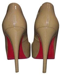 Christian Louboutin Tan/Brown Platforms