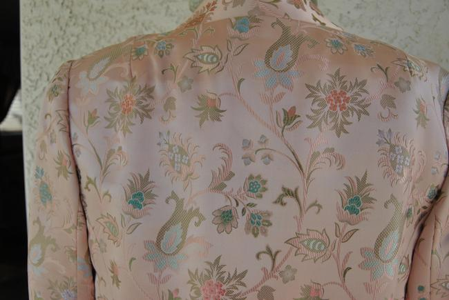 Other VINTAGE PEACH COLORED SUIT ALL SILK SIZE 6