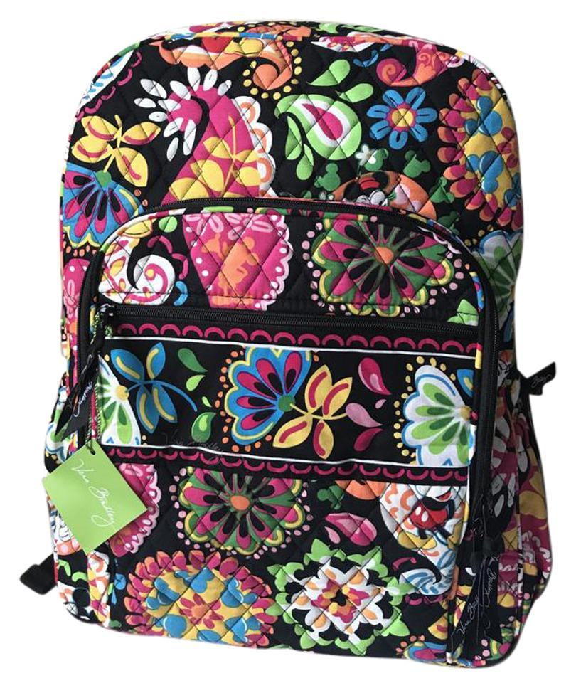 a86ad3edc6e1 Vera Bradley Disney Collection Campus Midnight with Mickey Backpack ...