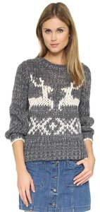 Free People Christmas Holiday Knit Boho Sweater