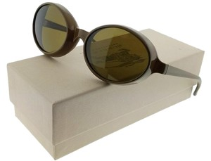 Burberry BE4141-337973 Women's Olive Green Frame Brown Lens Genuine Sunglasses