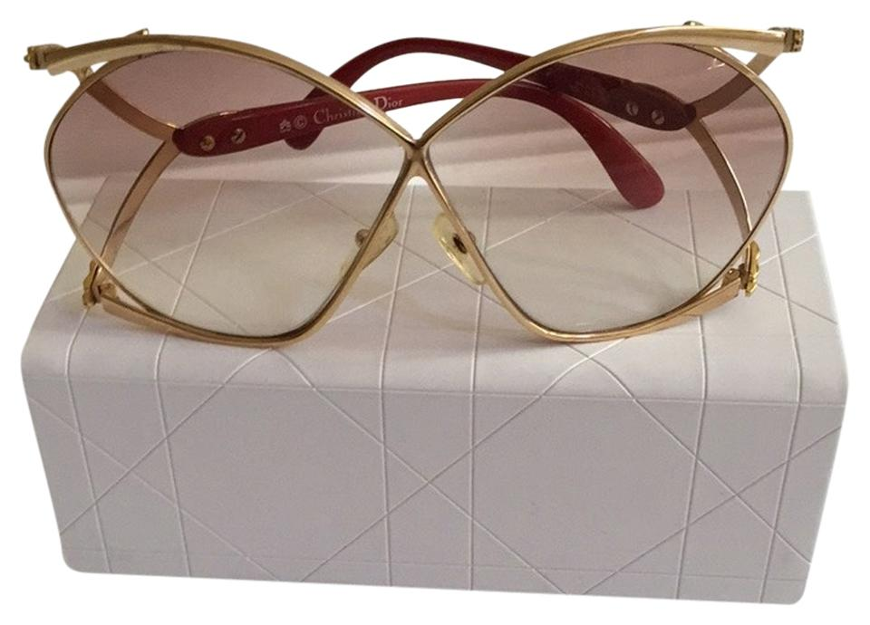 b7d7453c540 Dior Christian Dior 2056 Vintage Butterfly Sunglasses Image 0 ...