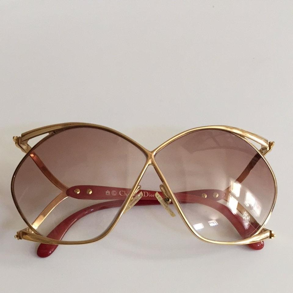 b11d83beebb Dior Christian Dior 2056 Vintage Butterfly Sunglasses Image 6. 1234567