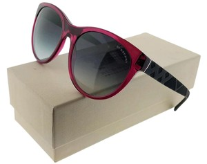 Burberry BE4182-34968G Women's Violet Frame Grey Lens Genuine Sunglasses