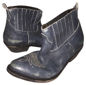 Golden Goose Deluxe Brand Blue Boots
