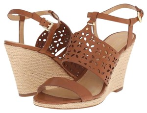 Michael Kors brown Wedges