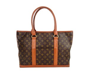 Louis Vuitton Monogram Vintage Weekender Travel Shoulder Bag