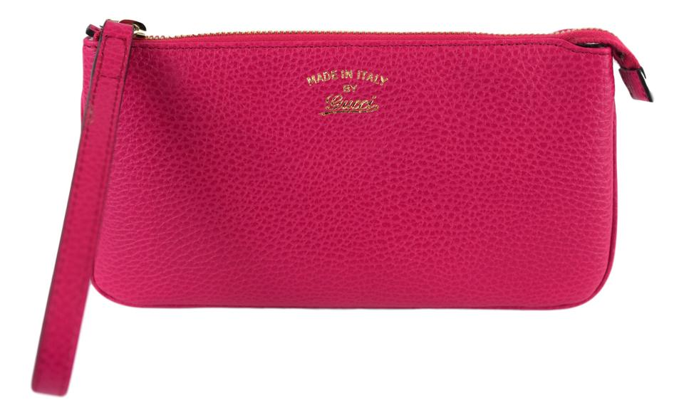 2dc91a307ac Gucci 368878 Wallet Wristlet in Pink Image 0 ...