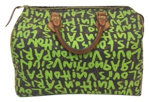 Louis Vuitton Stephen Sprouse Speedy 30 Graffiti Shoulder Bag