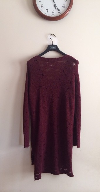 Free People short dress Wine Red on Tradesy