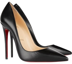 Christian Louboutin Louboutin So Kate 120mm Heels Black Pumps