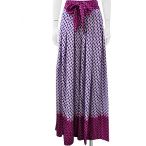 Gracia Wide Leg Pants purple