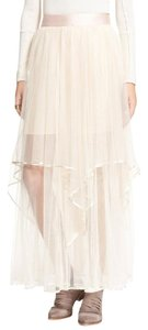 Free People Skirt Ivory/Pale pink