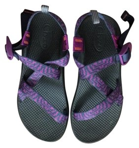 Chaco navy/purple Sandals