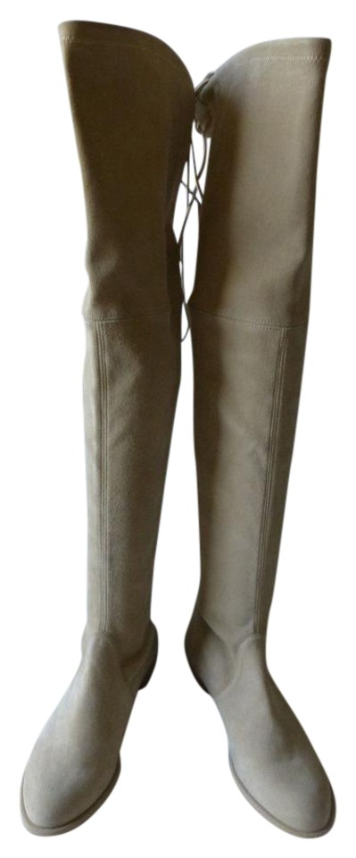 Stuart Weitzman Beige New No Box Lowland Lowland Lowland Suede Buff Over The Knee Boots/Booties 16cb45
