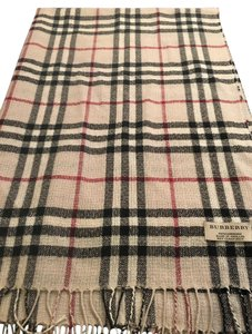 Burberry Burberry Classic Plaid Light Weight Large Cashmere Scarf