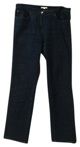 Eileen Fisher Straight Leg Jeans-Dark Rinse