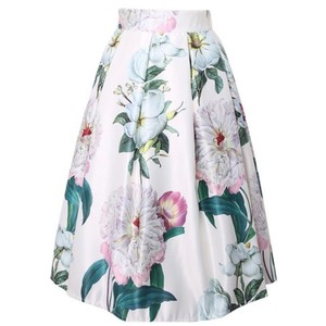 Other Skirt White & Floral