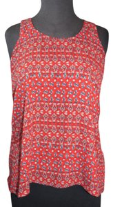 Hollister Top Red with Print