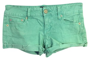 American Eagle Outfitters Ae Corduroy Pastel Mini/Short Shorts teal