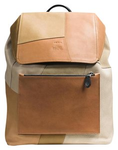Coach Suede Leather Backpack