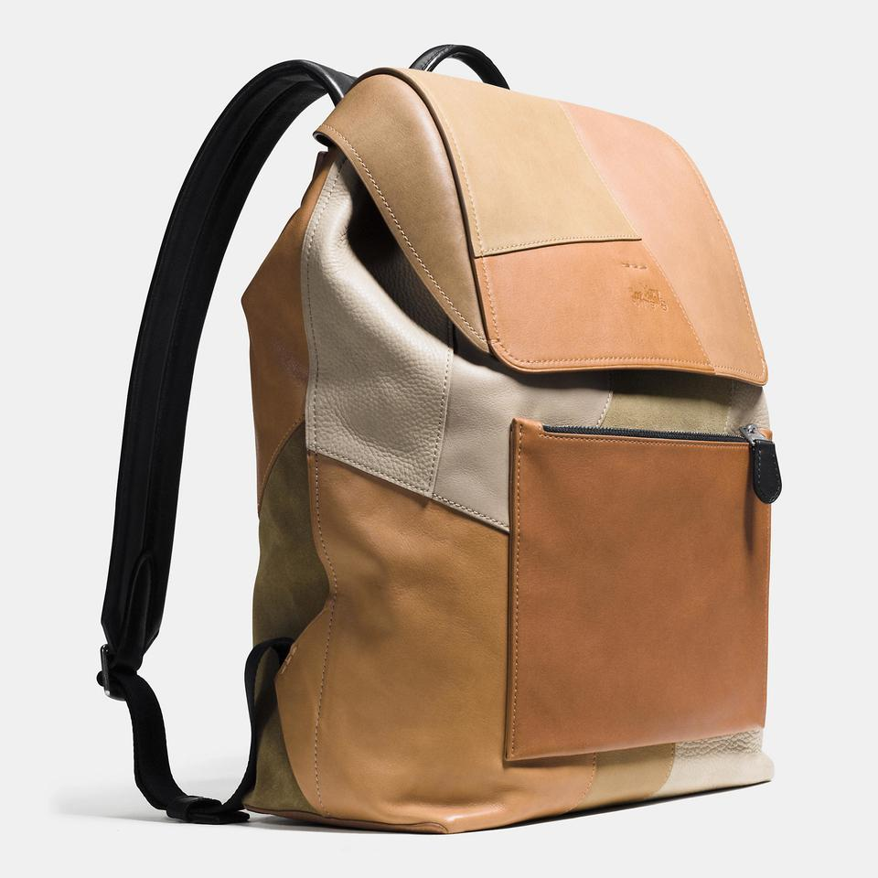 Coach Fathers Day Special Men's Suede & Leather Backpack on Sale ...