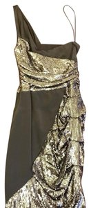 Nicole Miller Sequin Shinny Sexy Fitted Dress
