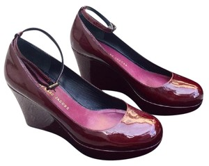 Marc by Marc Jacobs Heel Pumps Burgundy Wedges