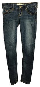 Hollister Skinny Skinny Jeans-Medium Wash