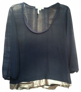 BCBGeneration Top Black with Gold trim
