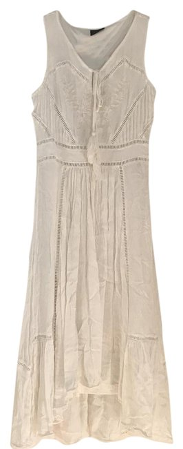 Item - White Flows Long Casual Maxi Dress Size 4 (S)