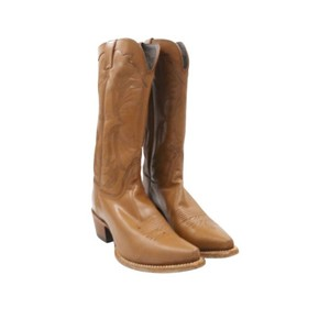 Nocona Boots Brown With Western Stitching brown Boots
