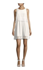 Elizabeth and James short dress Ivory on Tradesy