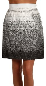 Kate Spade Ombre Mini Skirt Black & White